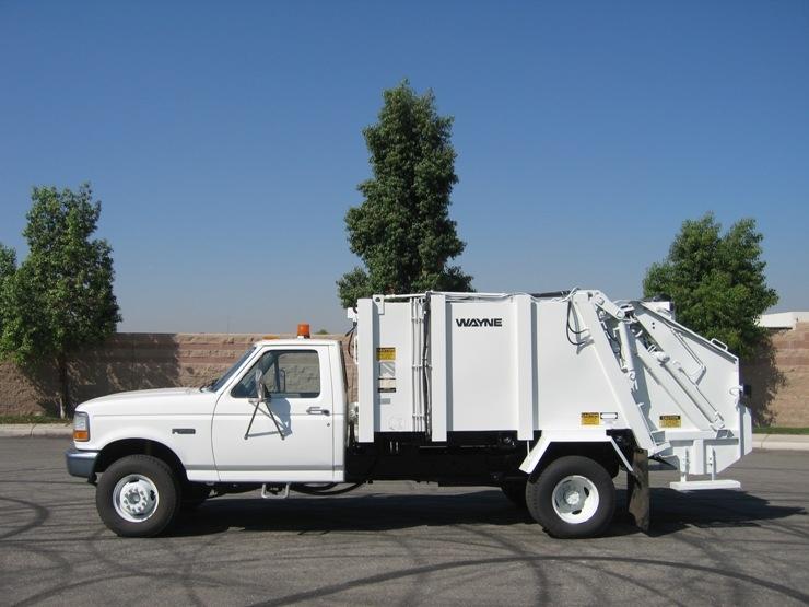 Trash Trucks For Sale >> 1996 Ford Garbage Truck For Sale With Wayne Rear Loader Rl411002