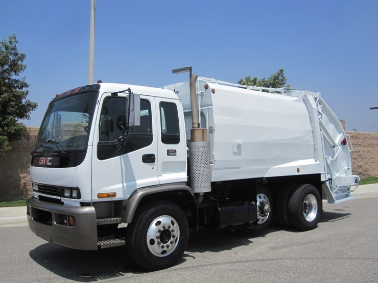 1999 gmc mcneilus rear loader trash truck for sale by for Gmc motors for sale