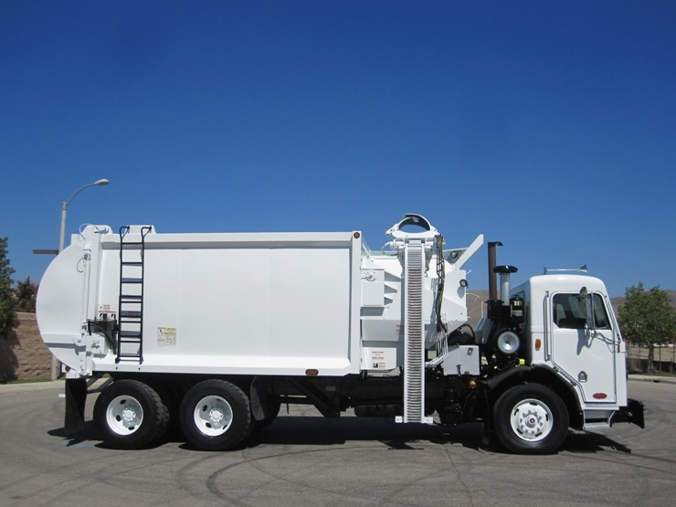 2010 Peterbilt Pendpac Automated Side Loader For Sale By