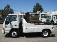 2004 GMC Container Delivery Truck with Robo-Lift Two Container Unit