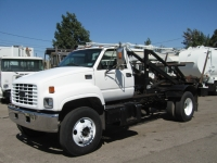 1999 Chevrolet Container Delivery Truck for Sale with G & H Mfg Unit