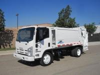 2012 Isuzu NQR with Wayne 8 Yard Quantum Rear Loader Garbage Truck