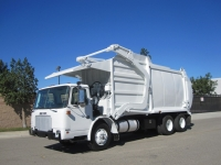2004 Autocar Xpeditor with Wittke 40 Yd Front Loader Refuse Truck for Sale