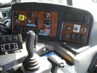 2005 Peterbilt 320 with Amrep Automated Side Loader Refuse Truck