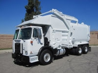 2009 Autocar Xpeditor with Amrep 40 Yd Front Loader Refuse Truck for Sale