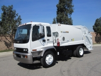 2008 Chevy T7500 with New Way Viper 13 Yard Rear Loader Garbage Truck