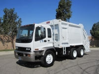 2007 GMC T8500 with Heil PT 1000 20 Yard Rear Loader Garbage Truck