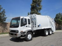 2008 GMC T8500 Garbage Truck for Sale with Leach Alpha 20 Yard Rear Loader