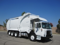 2009 Autocar Xpeditor with Wittke Superduty 44 Yard Front Loader Refuse Truck