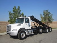 2008 Freightliner Roll Off Truck for Sale with Spartan Roll Off Hoist
