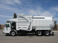 2005 Autocar Xpeditor Refuse Truck with Amrep 40yd Front Loader