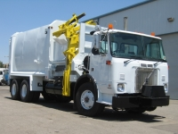 Volvo WXR64 with Labrie Automated Side Loader Refuse Truck