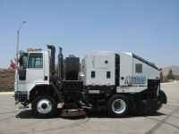 2007 Schwarze M6000 TECO Twin Engine Street Sweeper