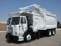 2006 Autocar Xpeditor with Heil 40 Yard Front Loader Refuse Truck for Sale