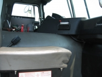 2003 Volvo Xpeditor with McNeilus Front Load Refuse Truck