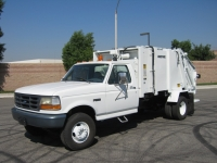 1996 Ford Garbage Truck for Sale with Wayne 6 Yard Rear Loader Trash Body