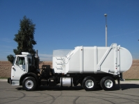 2008 Autocar Refuse Truck with Heil Rapid Rail Automated Side Loader