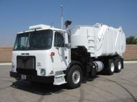 2009 Autocar Garbage Truck for Sale with Heil 30 Yard Rapid Rail Side Loader