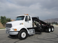 2007 Sterling LT9500 Roll Off Truck for Sale with Galbreath Roll Off Hoist