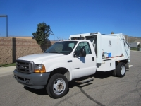 2001 Ford F-450 Garbage Truck for Sale with Wayne 6 Yard Rear Loader