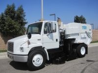 2004 Tymco 600 BAH Regenerative Air Street Sweeper on Freightliner FL70 Chassis