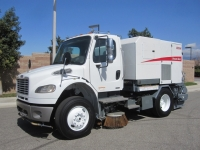 2008 Elgin Broom Bear Mechanical Street Sweeper for Sale on Freightliner M2