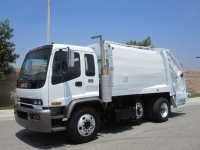 1999 GMC T8500 Garbage Truck for Sale with McNeilus 17 Yard Rear Loader
