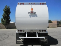 2009 Peterbilt 320 with PendPac Alley-Gator 30 Yard Automated Side Load Refuse Truck