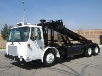 2003 Autocar CNG Roll Off Truck for Sale with Amrep Roll Off Hoist