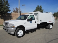 2003 Ford Garbage Truck for Sale with Wayne Tomcat 8 Yard Rear Loader