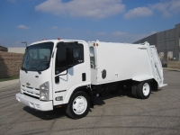 2009 Chevy W5500 with New Way 8 Yard Diamondback Rear Loader Refuse Truck