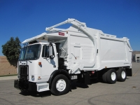 2008 Autocar Xpeditor with Heil 40 Yard Front Loader Garbage Truck for Sale
