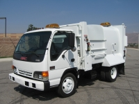 2000 GMC W5500 Garbage Truck for Sale with Wayne 6yd Side Loader Trash Body