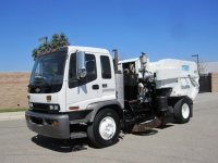 2008 Tymco 600 Regenerative Air Street Sweeper for Sale on Chevrolet T7500