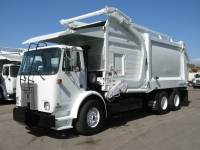 2002 Volvo WX64 Garbage Truck for Sale with Heil 40yd Front Loader Trash Body