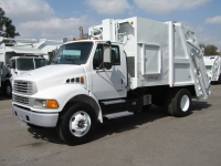 2001 Sterling Garbage Truck for Sale with Pak-Mor 16yd Rear Loader Trash Body