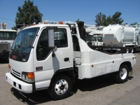 2004 GMC Container Delivery Truck for Sale with Robo-Lift Two Container Unit