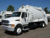 2003 Sterling Garbage Truck for Sale with McNeilus 20yd Rear Loader Trash Body