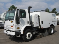 2007 Schwarze A7000 CNG Air Street Sweeper for Sale on Sterling SC8000 Chassis
