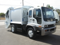 2004 Chevy T6500 with Wayne 12yd Rear Load Refuse Truck