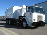 2001 Volvo WX64 with Heil 7000 Automated Side Loader Refuse Truck