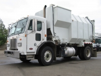 2001 Peterbilt 320 Garbage Truck for Sale with Amrep 18yd Side Loader Trash Body