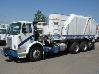 2004 Autocar Garbage Truck for Sale with Heil Rapid Rail 30yd Side Loader Trash Body