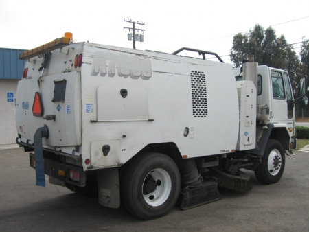 2007 Schwarze A7000 Regenerative Air Street Sweeper