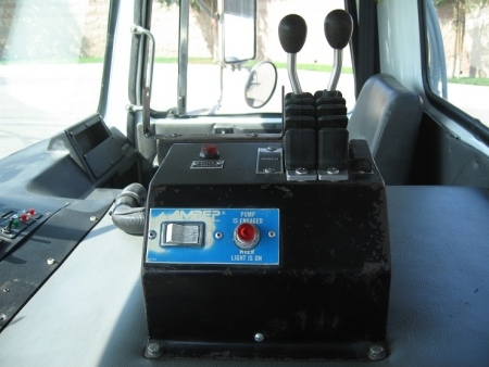 2003 Autocar CNG Powered Truck with Amrep Roll Off Hoist