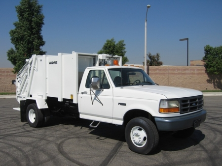 1996 Ford Garbage Truck For Sale With Wayne Rear Loader
