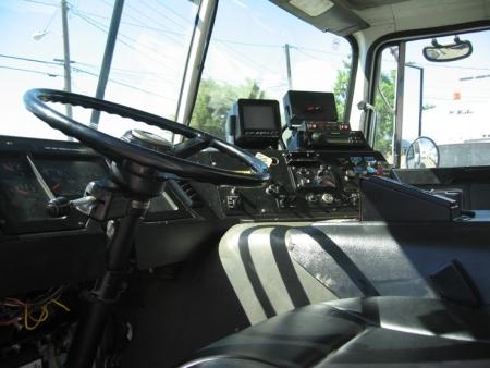 2003 Autocar Xpeditor with Leach 2R-II 20yd Rear Loader Refuse Truck