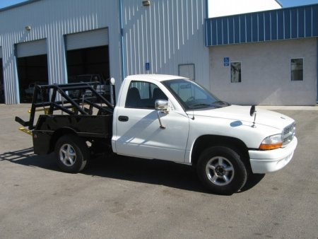 1998 Dodge Container Delivery Truck with Gaskin Built Unit